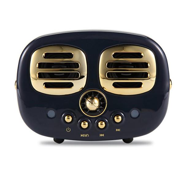 Hm12 Retro Stereo Bluetooth V4.1 Lautsprecher Tragbare Drahtlose Vintage Lautsprecher FM Radio In Mic Und Aux Unterstützung Speicherkarte