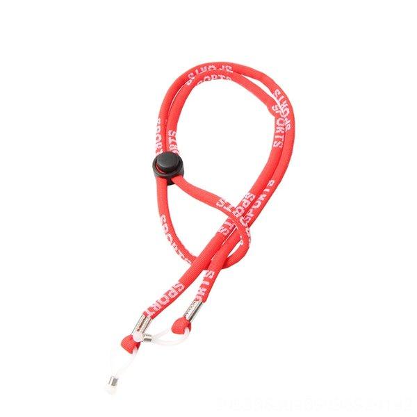 Rojo (st Gafas de deporte de la cuerda)