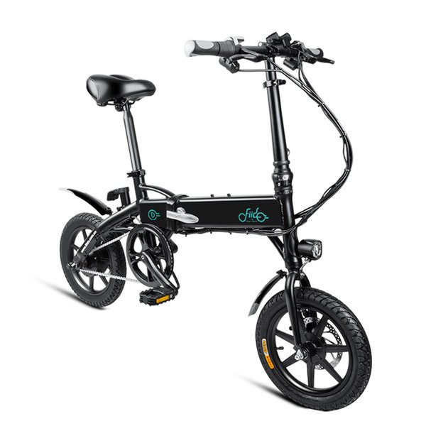 best selling FIIDO D1 36V 250W 7.8Ah 14 Inches Folding Moped Bicycle 25km h Max 60KM Mileage Electric Bike