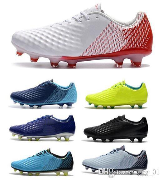 New Top Low Cristiano Ronaldo Magista Obra II ACC Soccer Shoes Neymar JR Phantom FG Soccer Cleats Mens Football Shoes Youth Footbal Boots
