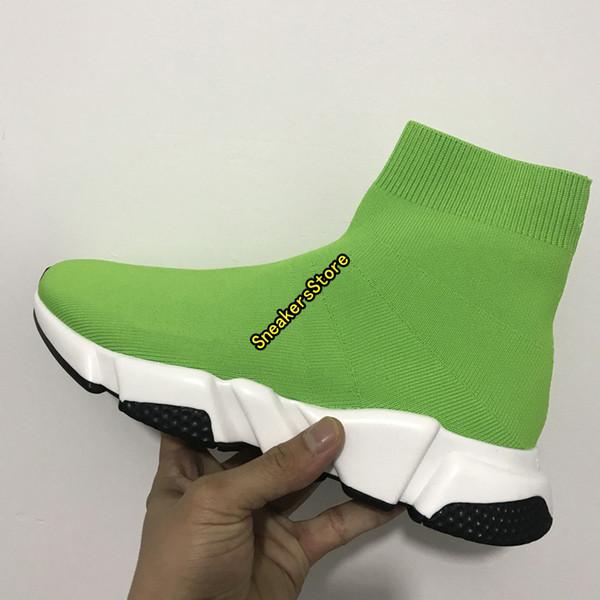#16 Green White