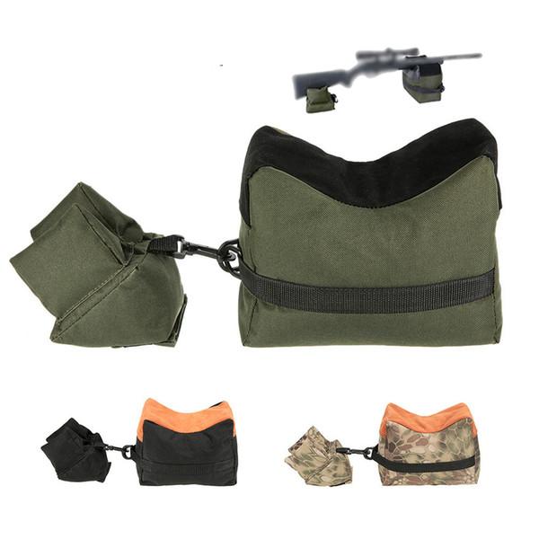 Tatical Frente / Traseira Saco de Suporte Rifle Saco De Areia Saco De Tiro De Caça Sniper Caça Saco De Tiro De Caça Air Gun Acessórios