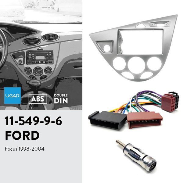 Kit conexion ISO+ISO ANTENA Marco auto radio ford focus