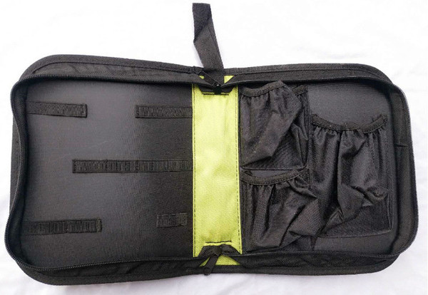 green case bag
