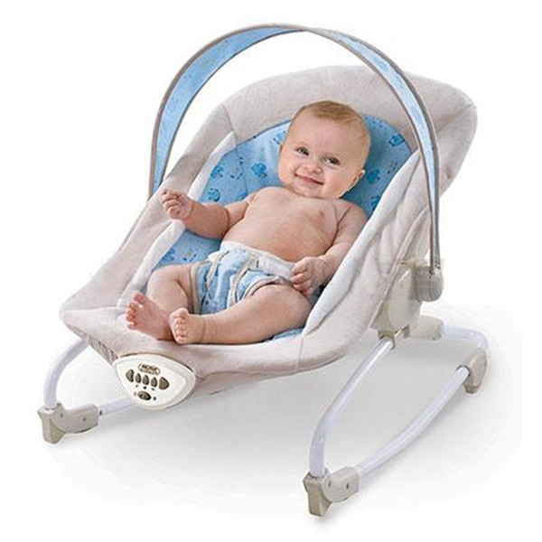 Baby Rocking Chair Musical Electric Swing Chair High Quality Vibrating Bouncer Chair Adjustable Newborn Recliner Cradle Chaise Accessories