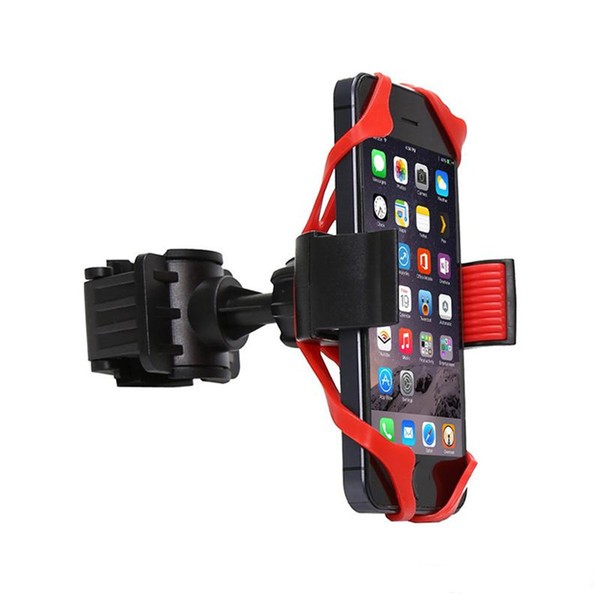 Phone Bike Mount Universal Cell Phone Bicycle Rack Handlebar & Motorcycle Holder Cradle for iPhone Samsung Nexus HTC LG BlackBerry Phones