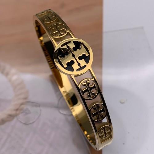TB Designer de aço inoxidável homens Moda Jóias Shinning 3 cor ouro rosa pulseiras de casamento de prata pulseiras para homens Mulheres meninos meninas presente