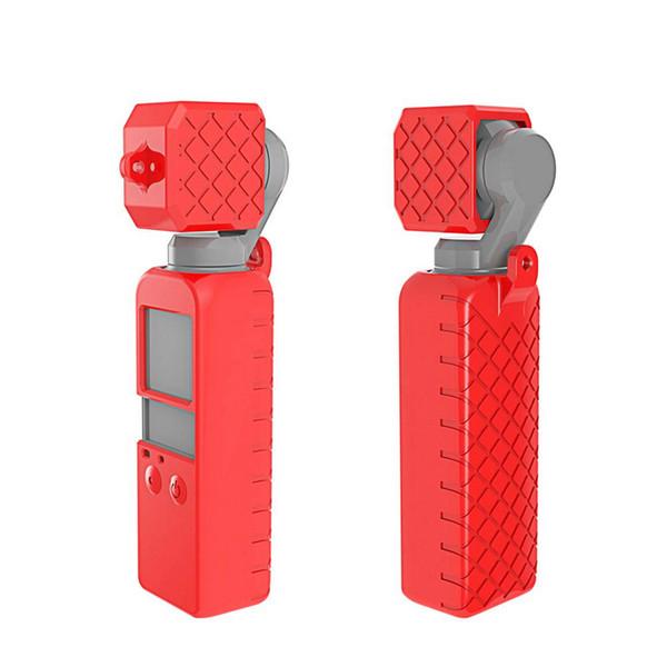 Bunte Osmo-Taschen-weiche Silikon-Gel Körper Case Schutzobjektivdeckel Deckel für DJI OSMO POCKET Hand Gimbal Kamera-Schutz