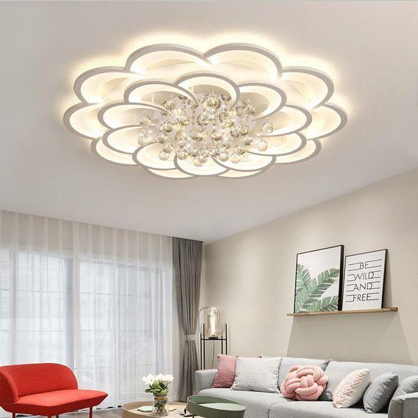 2019 Modern Flower LED Ceiling Light Living Room Bedroom Ceiling Lamp Light  Fixtures Living Room Lighting Lamp Chandelier From Albert_ng668, $220.11    ...