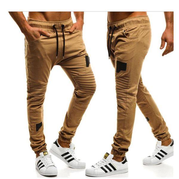 Erkek kamuflaj pantolon jogging yapan pantolon erkekler spor vücut geliştirme spor salonları pantolon erkekler Sonbahar Ter Pantolon