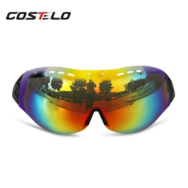 Costelo Cycling Helmet Lens MTB Mountain Road Bike Helmet Lens Bicycle Helmet Casco Speed Airo RS Ciclismo Goggles Bicicleta