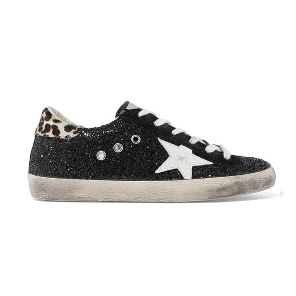 Compre zapatos en línea zapatos de diseñador para hombres mujeres Golden Goose Ggdb zapatillas de deporte de estilo sucio negro blanco Zapato casual de cuero genuino