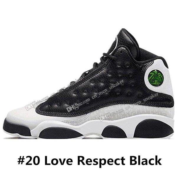 #20 Любовь Уважение Черный