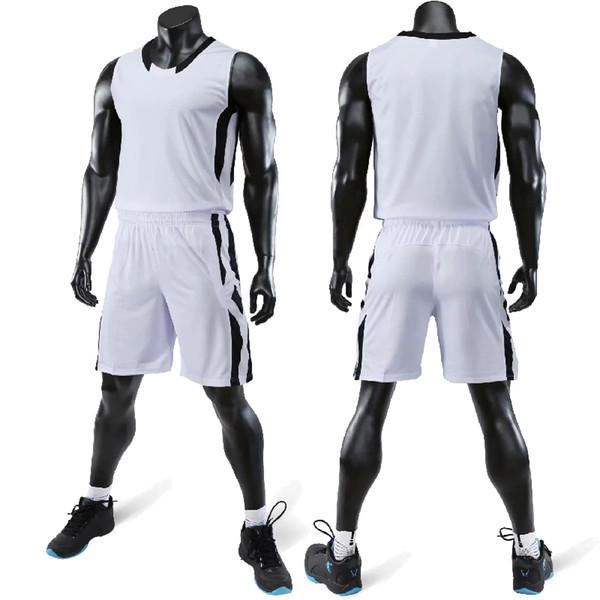 Terno de jersey de basquete feminino com terno de treinamento de basquete universitário de bolso respirável Uniforme de terno de basquete de secagem rápida uniforme pode ser cu