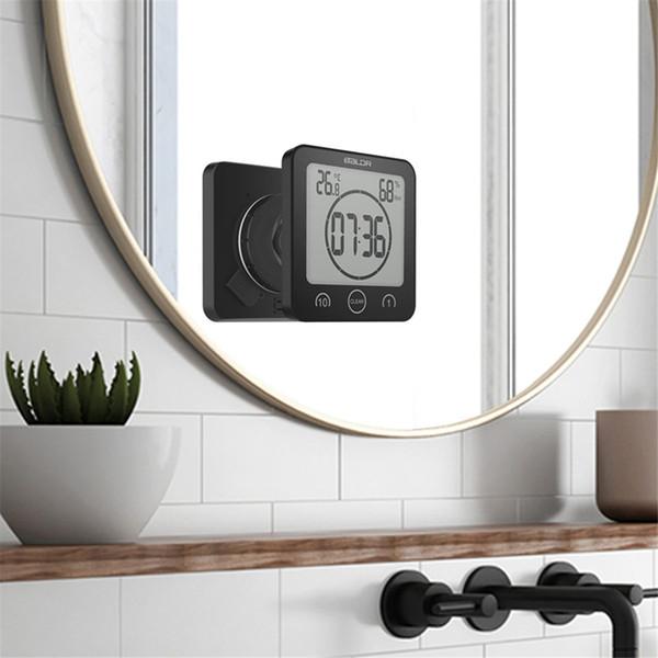 Impermeabile termometro igrometro digitale Bagno Doccia parete basamento di umidità dell'orologio di temperatura Timer Funzione speciale Doccia Kitchen Timer