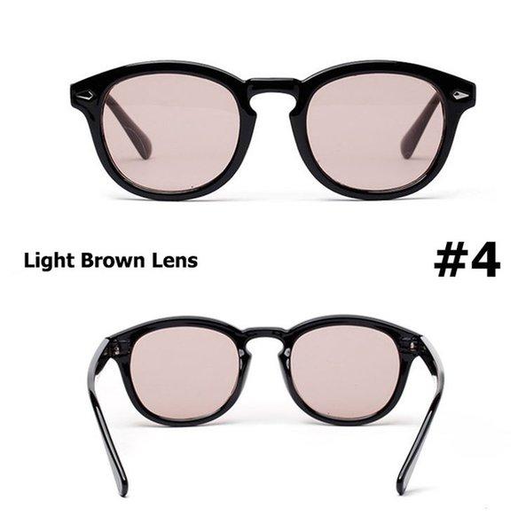 4 lenti marrone chiaro