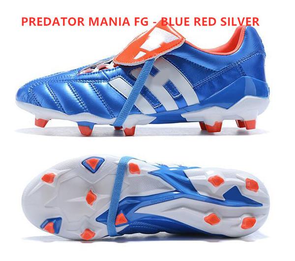 مفترس مانيا FG - الفضة الحمراء الأزرق