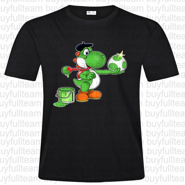 Peinture-Fraiche Grafik Erkek Siyah Kısa Kollu Moda Yuvarlak Yaka T Shirt Boyut XL S L 2XL 3XL Tops