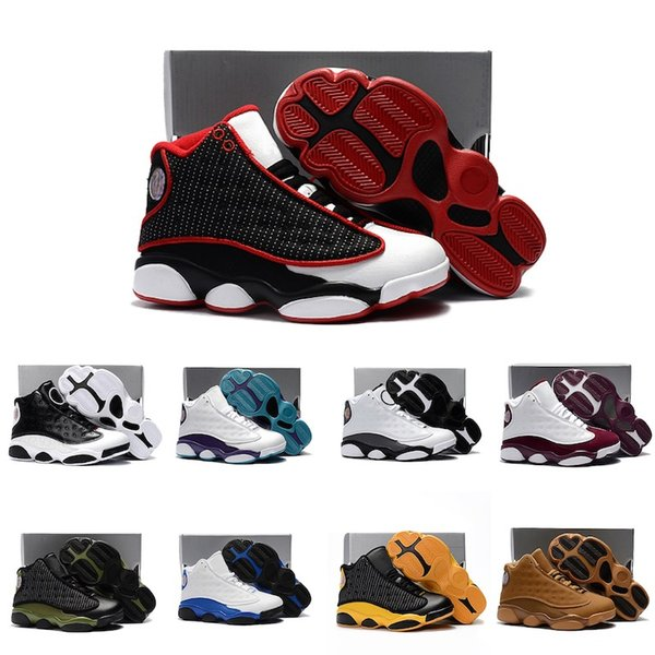 Nike Air Jordan 13 Zapatillas De Deporte Negras Y Rojas
