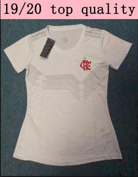 19 20 flamengo white woman jersey 2019 2020 GUERRERO DIEGO VINICIUS Soccer Jersey Brazil Flamengo ladies sports football shirt