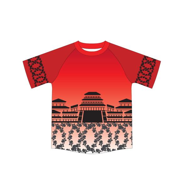 Globale Lieferung kostenlos 100% Polyester angepasstes Design Sublimationsdruck Casual Großhandel Männer Sport Mann Polyester Sporthemden