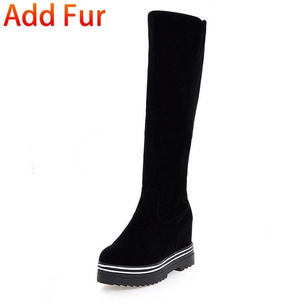 black add fur