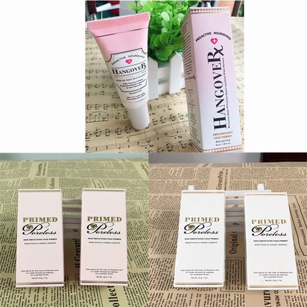 top popular in stock!Top Quality Faced Hangover Replenishing Primer Primed and Poreless Foundation Cocnealer Primer Proactive Nourishing By DHL free 2020