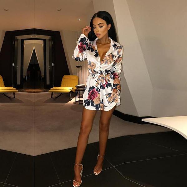 Vogue Mulheres Chiffon Eleturn Para Baixo Camisas Collar Senhora Manga Comprida Arco Cinto Moda Senhora Blusas Agradável Nova Blusa de Verão