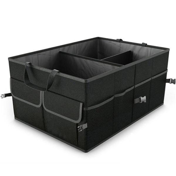 Caixa de armazenamento de carro dobrável Trunk Bag Organizer Space Saving Multi Function Oxford Tecido Recipiente de armazenamento Protable HHAA47