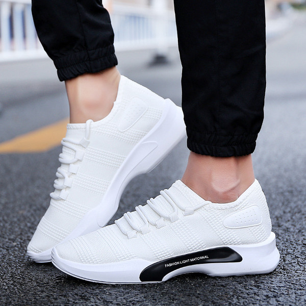 2019 Chaussures Mode Casual Chaussures De Sport Respirantes Marque Young Leisure Chaussures Chaussures De Sport Hommes