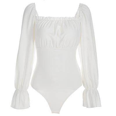 Beyaz Bodysuit