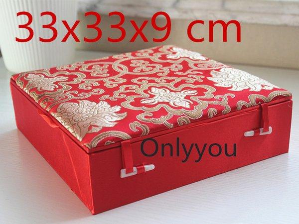 red 33x33x9cm