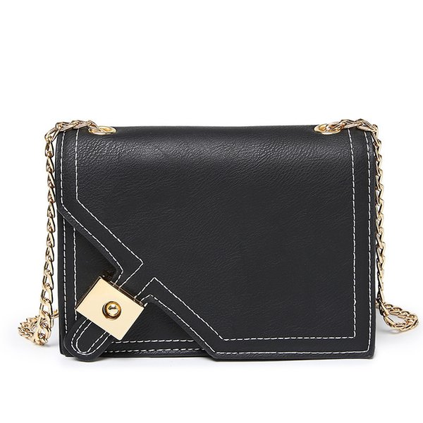 12019 Originality Fund Ma'am Pu Single Shoulder Small Square Package Will Capacity Mobile Phone Package Oblique Satchel