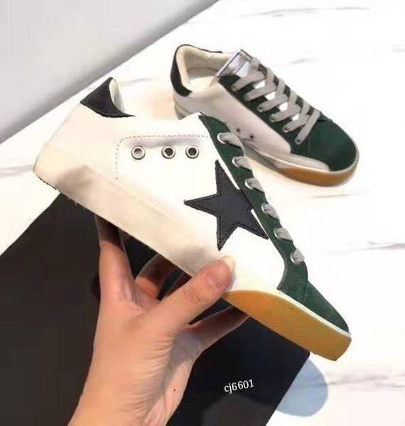 RG Star грязные ботинки, совершенно новые высококачественные кожаные блестки, чтобы сделать старые кроссовки модными и удобными грязными спортивными ботинками.