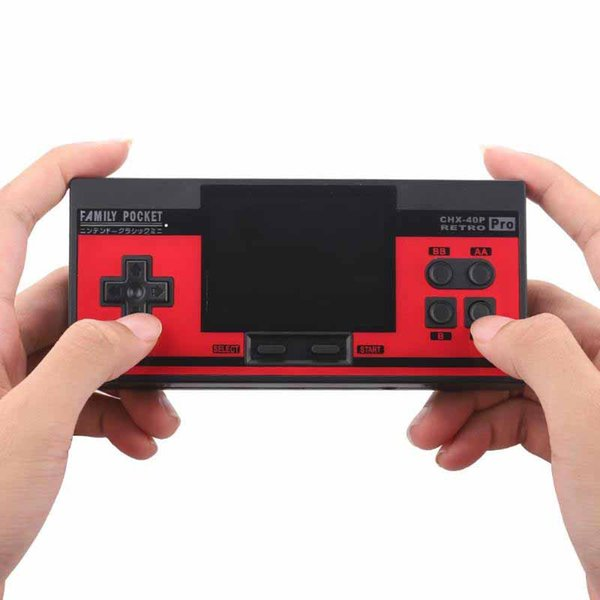 Retro Handheld Games Consoles Family Pocket HD 3.0 inch Screen Portable Mini Video game console Can Store 348 Games Support TV Video Output