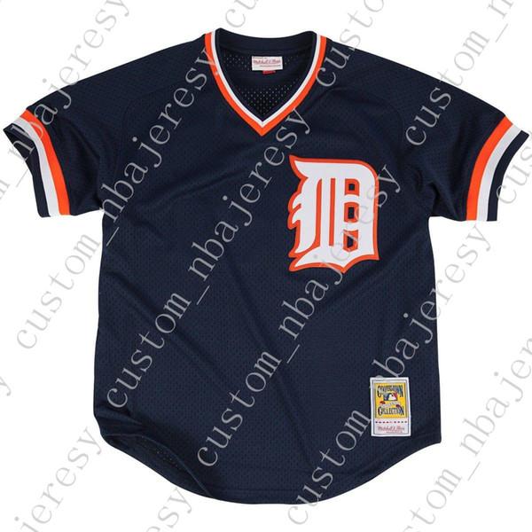 Cheap personalizzato Kirk Gibson 1984 BP Jersey Stitch personalizzare qualsiasi nome numero UOMINI DONNE GIOVANI baseball Jersey XS-5XL