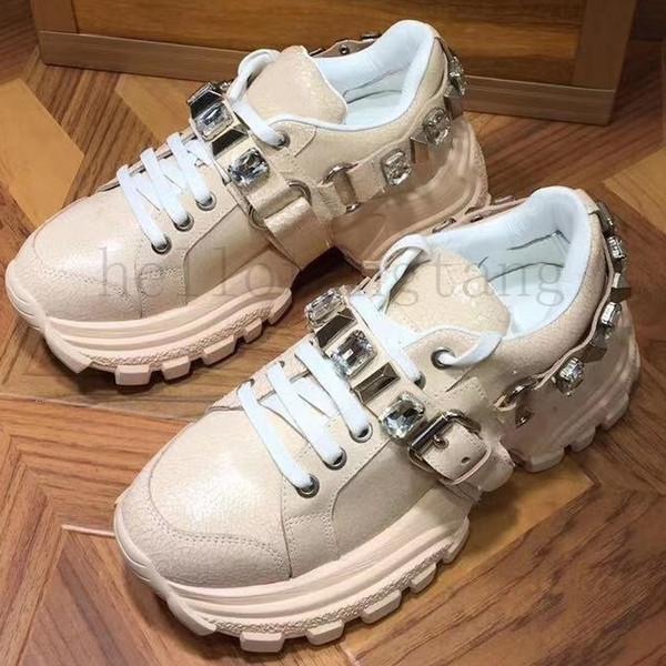 Newes femme FlashTrek Sneaker con Cristalli rimovibili Designer di lusso Scarpe donna casual Womens Sneakers Fashion chaussures de formato 35-40