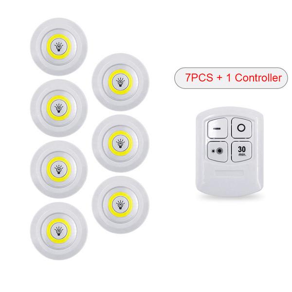 1 / contrôleur + 7 / lumière
