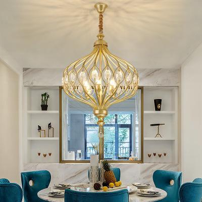 Großhandel Moderne Kristallleuchter Beleuchtung Für Küche Schlafzimmer Art  Deco LED Kronleuchter Decke Abgehängte Lampen Candelabro De Cristal Von ...