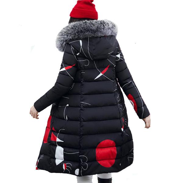 womens down coat women winter jacket 2019 winter fur collar thicken jacket female plus size 3xl outerwear parka ladies chaqueta feminino