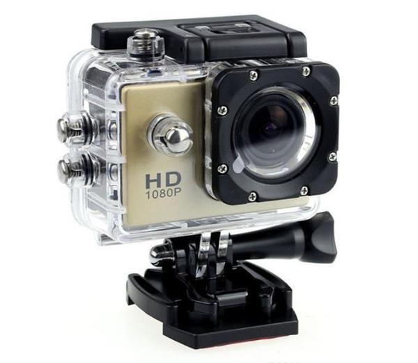 top popular 2019 new hot 1080P Full HD Action Digital Sport Camera 2 Inch Screen Under Waterproof 30M DV Recording Mini Sking Bicycle Photo Video 2020