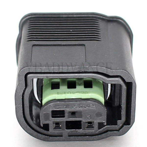 1-967642-1 Pa66 MQS Series Amp TE Connectivity 3 Pin Connector For Vw Audi