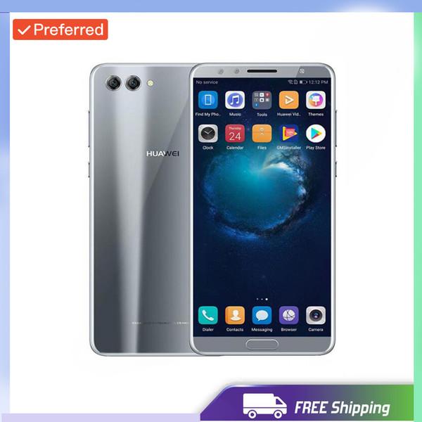 Разблокировка с завода Оригинальный мобильный телефон Huawei Nova 2S Android 8.0 с диагональю 6,0 дюйма и разрешением Full HD 2160 * 1080 пикселей для камер Octa Core 4