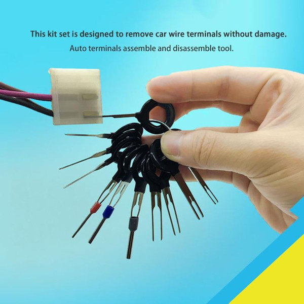 2019 car terminal removal tool kit harness wiring crimp connector extractor puller release pin unlock tool picker car check from wondenone, $52 03  wiring harness tool kit #11