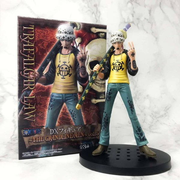 One Piece Trafalgar Law Anime Figures CollectibleMoble Hot Toys Birthdays Gifts Doll New Arrvial Hot Sale PVC Free Shipping
