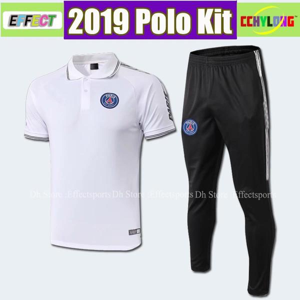8099c9f68 2019 PSG Polo Black Red Pink Soccer Jersey 18 19 Paris Saint-Germain Soccer  Polo