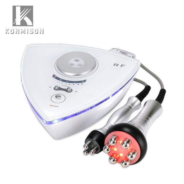 Uso home portátil 2 da máquina do emagrecimento do corpo do RF em 1 radiofrequência Facial Madhine para o rejuvenescimento da pele antienvelhecimento