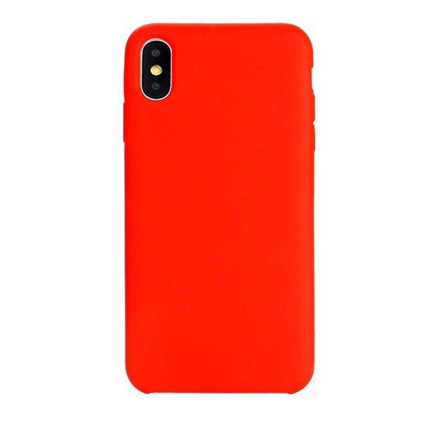 T-Mobile Apple iPhone X Case Liquid Silicone Gel Rubber Shockproof Phone Cover Mobile phone protective cover against falling