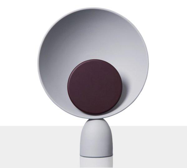 Серый + Wine Red