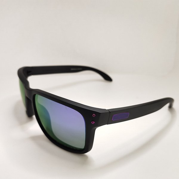 Matte frame purple lens